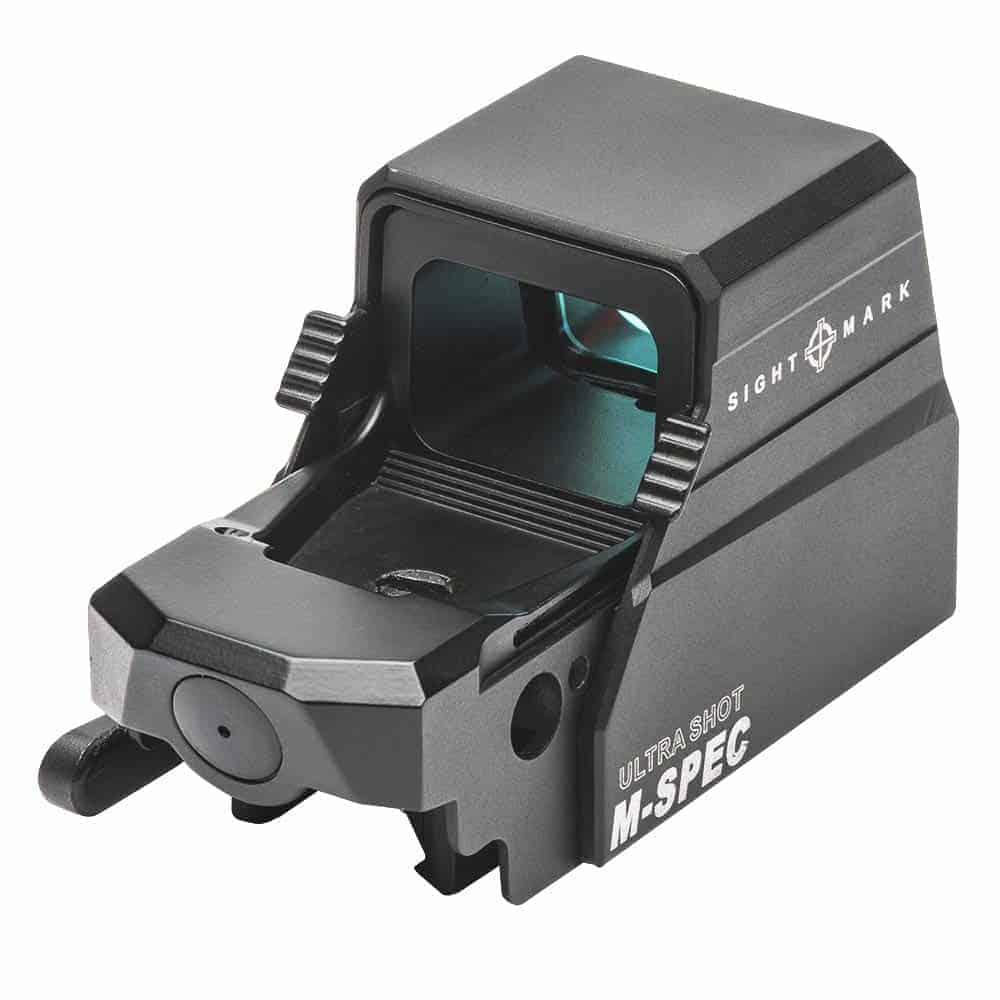 Sightmark Ultra Shot M-Spec Reflex Sight (SM26034) rear of reddot sight