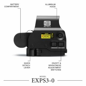 EOTECH EXPS3 Holographic Weapon Sight side