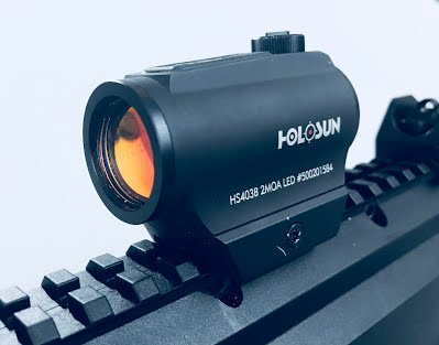 Holosun 403B Review mounted